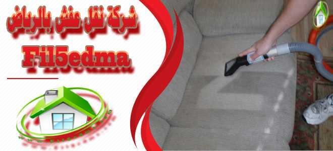 تنظيف وتلميع المفروشات Cleaning and polishing upholstery